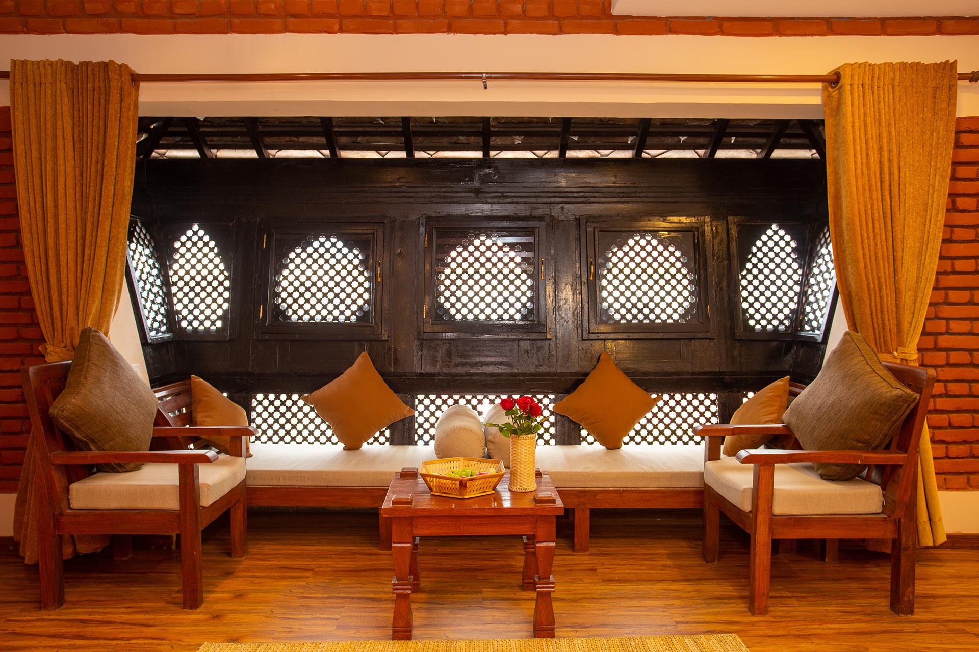 Traditional Newari Window